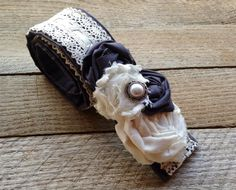 DSLR Vintage Lace Camera Strap Cover With Two Lens by SewJacyMae