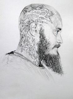 Arte Viking, Viking Art, Viking Runes, Norse Tattoo, Celtic Tattoos, Armor Tattoo, Tattoo Ink, Ragnar Tattoo, Bart Tattoo
