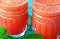 Watermeloensmoothie met sinaasappel en munt | Baby & Dreumes Eetfestijn