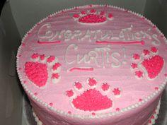 Penn State Girl Baby Shower Cake