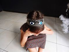 D.I.Y A pair of eyes... headband for girls !!!