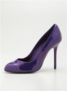 Purple Steve Madden pumps