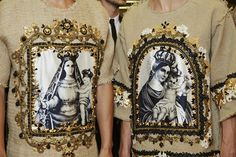 Dolce&Gabbana Summer 2016 Men's Fashion Show Backstage.  www.dolcegabbana.com