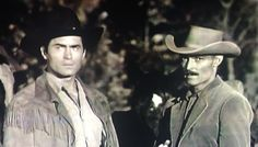 Cheyenne and the Lawman. It was have been an awesome crossover episode. Clint Walker Actor, Crossover Episodes, John Russell, Westerns, Actors, School, Awesome, Men, Guys