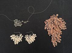 Crocheted Lace Jewelry Inspired by Organic Specimens | Colossal