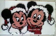 Mini & Mickey Santas