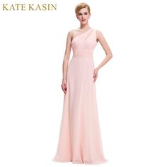 One Shoulder Sexy Formal Evening Dresses for Women Abendkleider 2017 Maxi Style Evening Long Dress Pink Red Blue Party Wear ST71