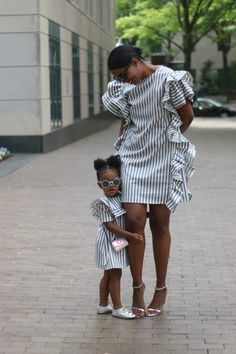Biggest Women S Fashion Brands Mother Daughter Matching Outfits, Mother Daughter Fashion, Mommy And Me Outfits, African Dresses For Kids, Latest African Fashion Dresses, African Print Fashion, Diy Fashion Lookbook, African Attire, African Wear