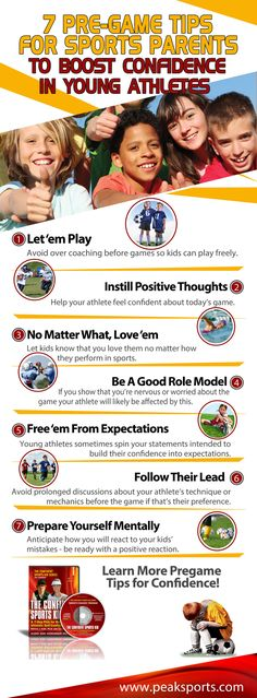 7 Pregame Tips for Sports Parents to Help Improve Kids' Confidence   Youth Sports Psychology