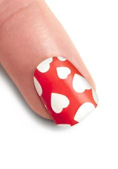 You've Got Nail Stickers in Heart Parade | Mod Retro Vintage Cosmetics | ModCloth.com - StyleSays