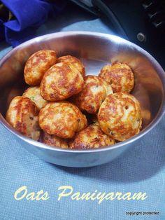 Instant Oats Paniyaram - A Popular breakfast dish.. enjoy with any chutney #instantrecipes #oats #paniyaram #breakfast #indianfood