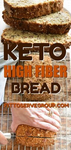 If you& been missing your whole wheat bread while doing keto, then this keto high fiber breakfast is the solution you& been needing. It& not& The post Best Tasting Keto High Fiber Bread · Fittoserve Group appeared first on Ana Jeffrey Workouts. Ketogenic Recipes, Low Carb Recipes, Diet Recipes, Lunch Recipes, Bread Recipes, Soup Recipes, Wheat Bread Recipe, Recipies, Dessert Recipes