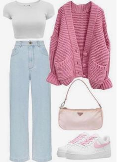 Teen Fashion Outfits, Mode Outfits, Look Fashion, Korean Fashion, Kids Fashion, Fashion Tips, Cute Casual Outfits, Retro Outfits, Stylish Outfits