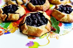 Mini Blueberry Galettes by Ree Drummond / The Pioneer Woman, via Flickr