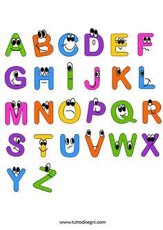 Alfabeto animato per bambini - TuttoDisegni.com