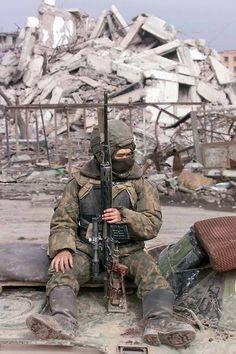Russian marksman/sniper