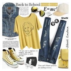 """Back to School: Denim Guide"" by katjuncica ❤ liked on Polyvore featuring rag & bone, American Eagle Outfitters, Theory, Converse, STELLA McCARTNEY and BackToSchool"