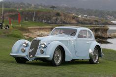 1938 Alfa Romeo 8C 2900B Lungo Touring Berlinetta 412029