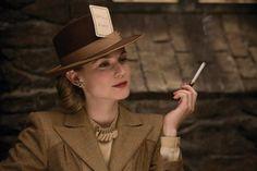 Bridget Von Hammersmark plays dangerous games. Sumptuous costumes that make Diane Kruger's performance even more effective.  Via http://1000monkeys.com/2009/08/the-inglourious-fugue-chapters-34