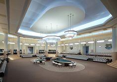 LE DÉCOR DU DÉFILÉ/ CHANEL/ Hiver 2015/ Casino time at Grand Palais
