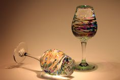 Cold-cut glass sculptures