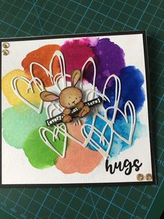 Background Pics, Copics, Bunnies, Onion, Hug, Card Ideas, Stamps, Card Making, Scrapbooking