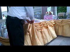 Pooh Phu  วิธีการจัดผ้า - YouTube