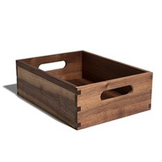 Walnut Dovetail Market Box
