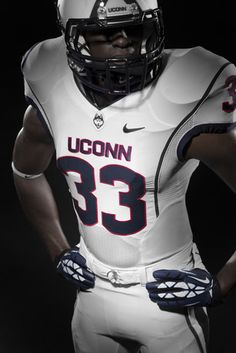 UCONN s new Nike uniforms for 2013 College Football Uniforms 7fea9cd73