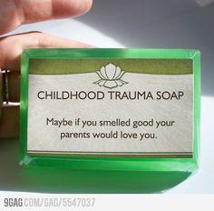 Childhood Trauma Soap