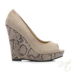 d6bf53ca0c58 Dámské hnědé lodičky MERCY  shoes  fashion  lodicky  moda