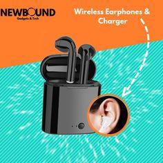 More information in the link below! Best Wireless Earphones, Bluetooth Headphones, In Ear Buds, Tech Gadgets, Smartphone, Link, High Tech Gadgets, Gadgets