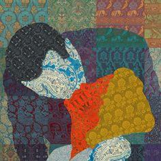 """__ HOLLYWOOD´S KISS 8 __   """"El instinto de evasión de este artista barroco hace que prefiera las «formas que vuelan» a las densas y estáticas; su inclinación por el pathos lo lleva a describir pasiones y sentimientos, la vida y la muerte en su expresión más violenta"""".     Javier Rubio Nomblot    IndieColors Blog    #arte #art"""