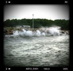 Power of sea Niagara Falls, Croatia, Sea, Nature, Travel, Naturaleza, Viajes, The Ocean, Destinations