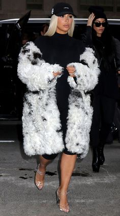 So we've noticed a *major* theme in the Kardashians' NYFW looks... Did you spot it?