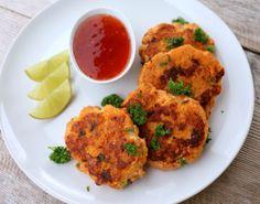 Smakfulle thaifiskekaker