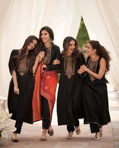 Kurtas, lehengas, kaftans, there are myriad ways to incorporate bandhini in your Indian wear