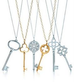 Key to my heart, Kappa Key...call it whatever but Tiffany & Co. keys are just my speed because they are quite lovely!