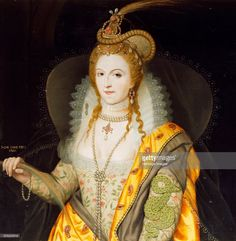 Portrait of Queen Elizabeth I, 1774. From the collection of Audley End House, Essex. Artist: Biagio Rebecca.