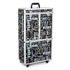 Top Performance Extra Large Grafffiti Grooming Case with Wheels ** ** AMAZON BEST BUY **  #PetSuppliesSale