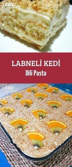 Labneli Kedi Dili Pasta Pasta Cake, Mary Recipe, Turkish Sweets, Turkish Kitchen, Salty Foods, Arabic Food, Turkish Recipes, Easy Cake Recipes, Sweet And Salty