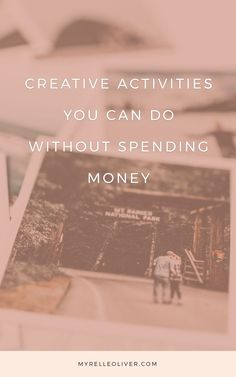 Whether you're on a budget, saving, unemployed, here are fun and productive things to do without spending money whether it's a money-free weekend or daily. Check Your Credit Score, Productive Things To Do, Financial Peace, Family Budget, Night Routine, Creative Activities, Self Care Routine, Inspirational Videos, Creative Things