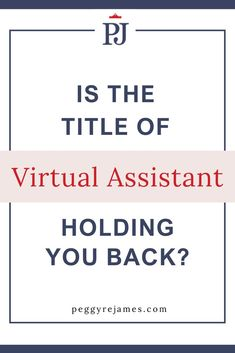 Could the title of virtual assistant be holding you back? If you're offering niched services like social media managment, pinterest management, copywriting or any other high level done for you service, then it's time to drop that Virtual Assistant title and get paid! Find out why in this blog post. Make More Money, Make Money From Home, Business Planning, Business Tips, Successful Online Businesses, Your Back, Hold You, Work From Home Jobs, Copywriting