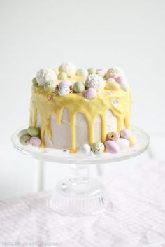 Easter Deserts, Easter Treats, No Bake Desserts, Delicious Desserts, Just Eat It, Piece Of Cakes, Easter Recipes, Confectionery, Yummy Cakes