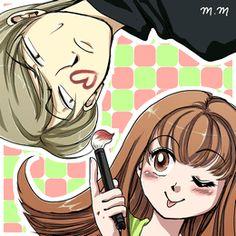 Itazura na Kiss - Itazura na Kiss Fan Art - Fanpop Chibi, Itazura Na Kiss, Kiss Day, Secret Garden Coloring Book, Shoujo, Anime Couples, Sailor Moon, Coloring Books, Disney Characters