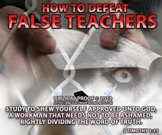 A gospel preacher who is worth his weight in gold are they who preach where they are needed as opposed to where he can get the most money for his services. http://biblicalproof.wordpress.com/2013/07/03/how-to-defeat-false-teachers/?relatedposts_exclude=8533