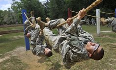 Military Obstacle Course | File:Army soldiers run through an obstacle course at Ft. Benning.jpg ...