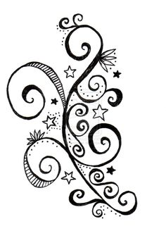 Swirls And Butterflies Tattoos On Shoulder - Tattoo Ideas Swirl Tattoo, Tattoo Outline, Arm Tattoo, Sleeve Tattoos, Quilling Patterns, Quilling Designs, Butterfly Tattoo On Shoulder, Tattoo Shoulder, Decoupage