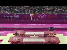 2012 Olympics trampoline! If I could compete in any category, this'd be it. = ) Women's trampoline event is today, 4.8.2012