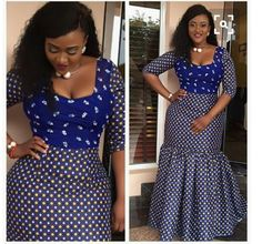 Ankara Fashion 2017 : See Latest Lovely Ankara Styles Collection - Owambe styles African Dresses For Women, African Print Dresses, African Print Fashion, Africa Fashion, African Attire, African Wear, African Fashion Dresses, African Women, African Prints